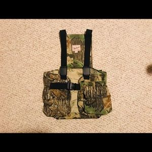 Woolrich Men's Turkey Hunting Vest with Pad Medium